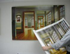 tirage sur canvas