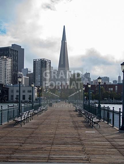 San Francisco photo impression et toile