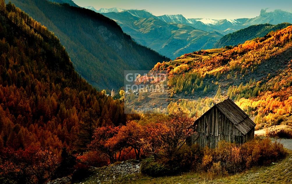 Paysage montagne photo impression et toile