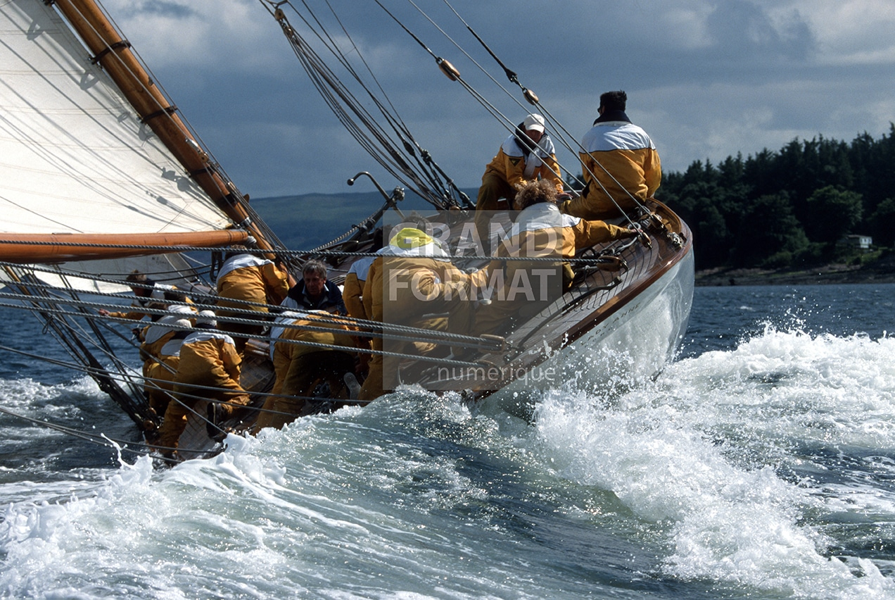 Voile marine photo impression et toile