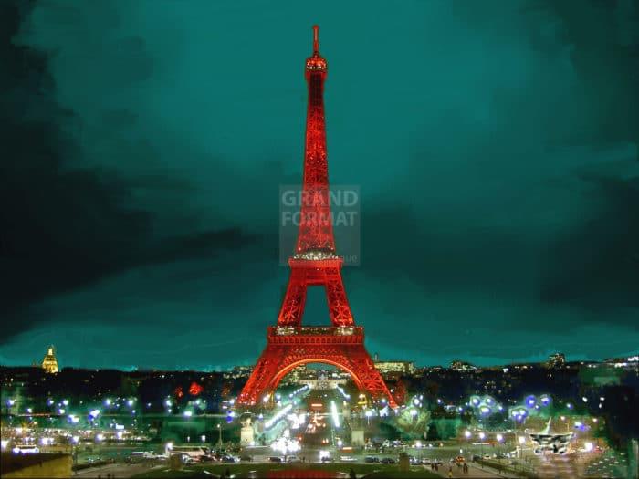 Tour Eiffel photo impression et toile