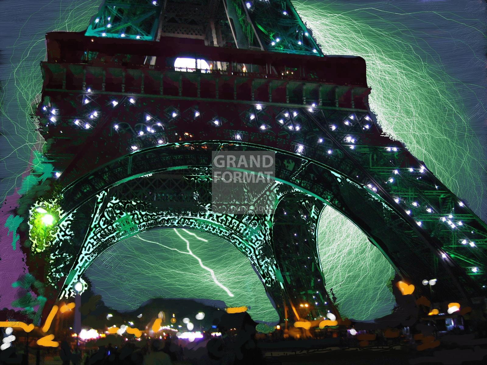 Tour Eiffel Paris impression et toile