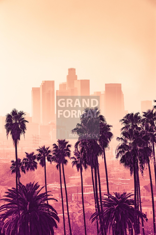 Los Angeles, USA photo impression et toile