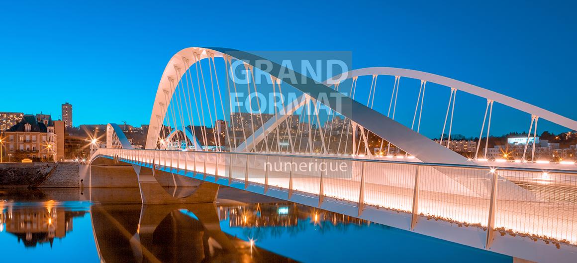 Pont Schuman photo impression et toile