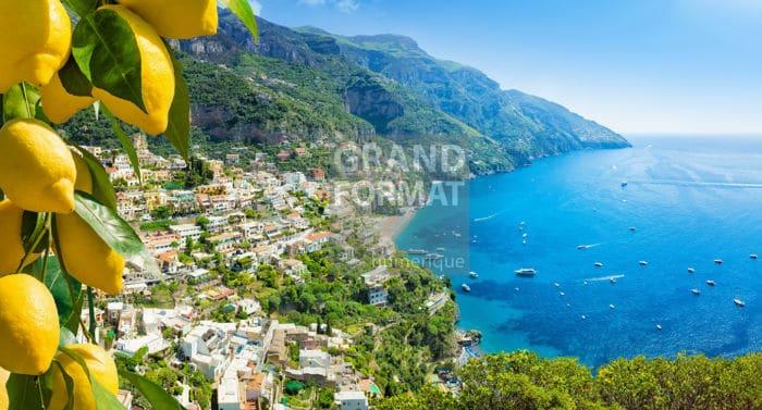 Amalfi mer photo impression et toile