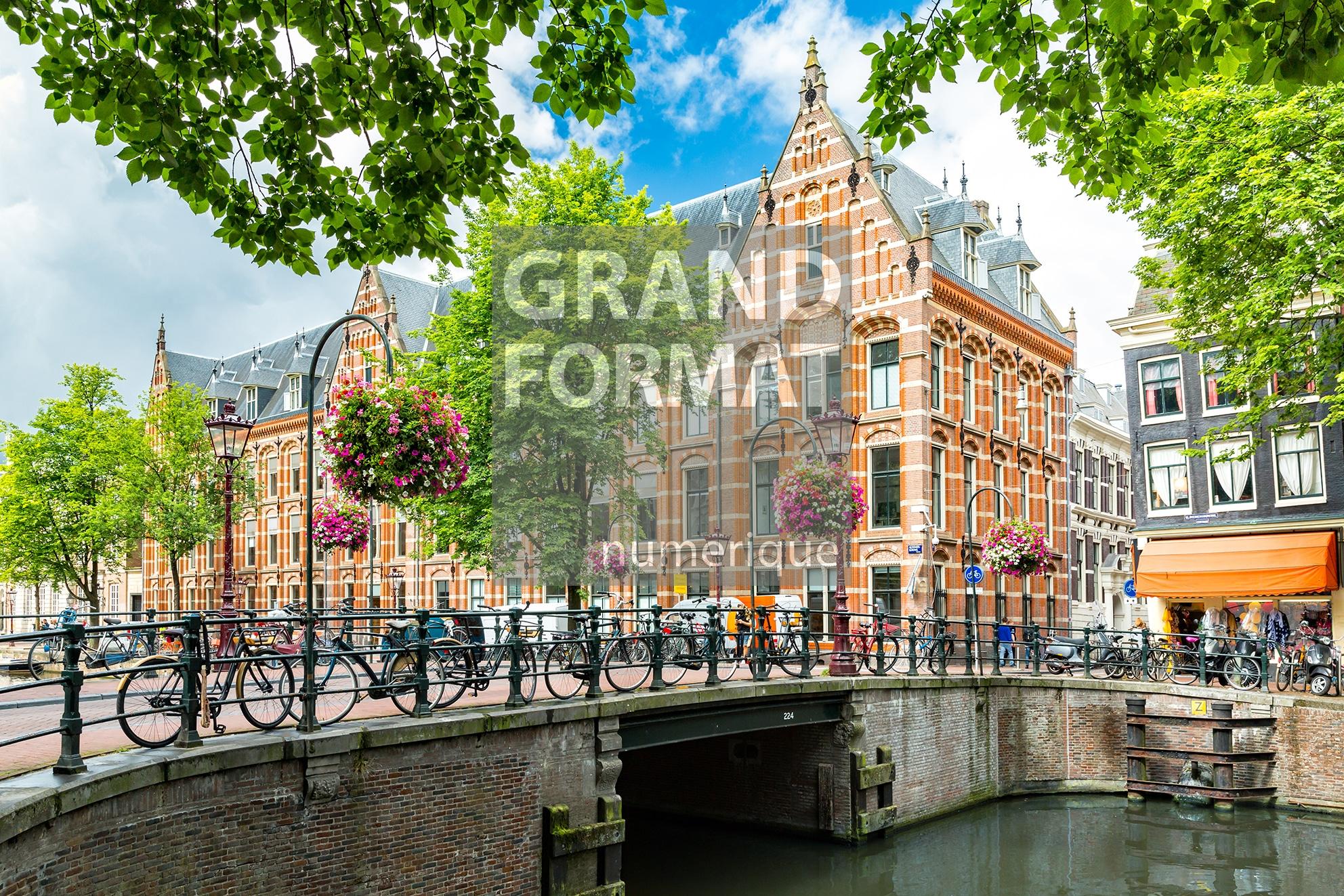 Amsterdam ville photo impression et toile