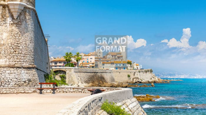 Antibes port photo impression et toile