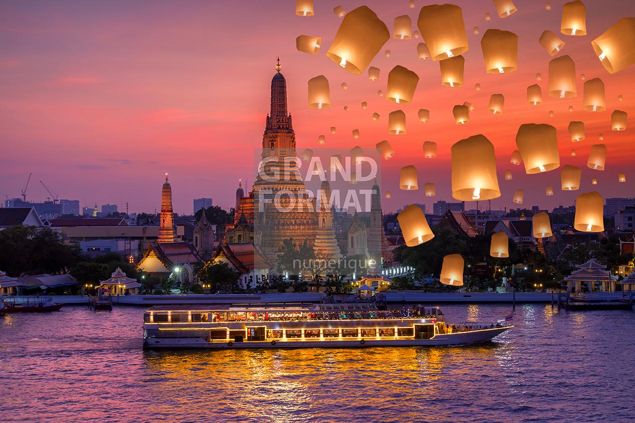 Bangkok photo impression et toile