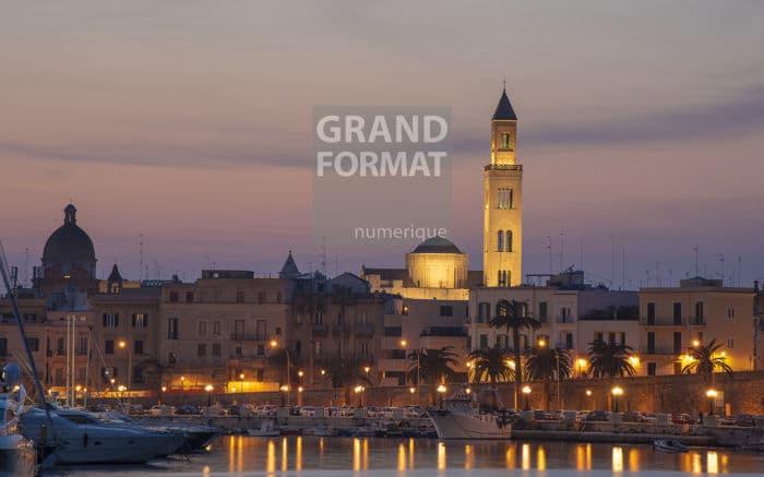 Bari Italie photo impression et toile