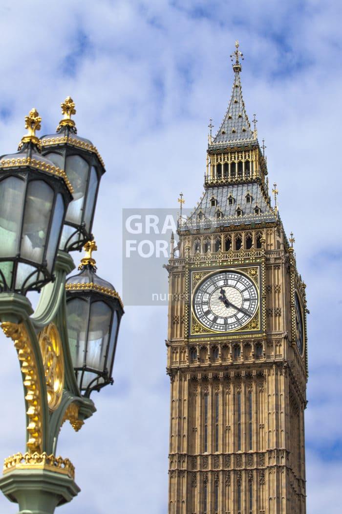 Big Ben, Londres photo impression et toile