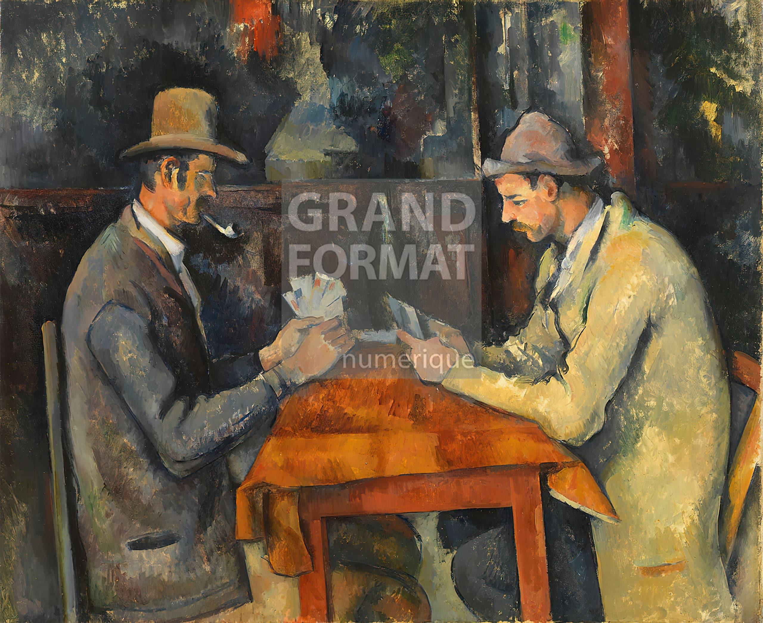 Cézanne impression giclée sur toile