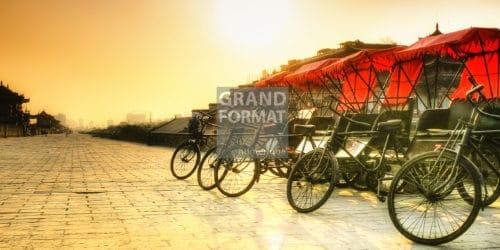 Chine, bicyclettes photo à télécharger