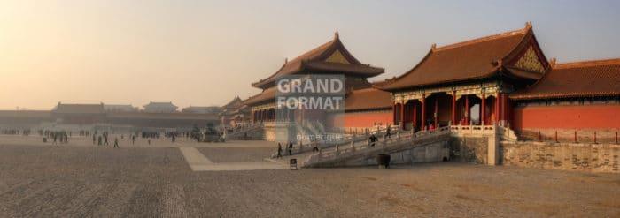 Chine, cité interdite photo impression et toile