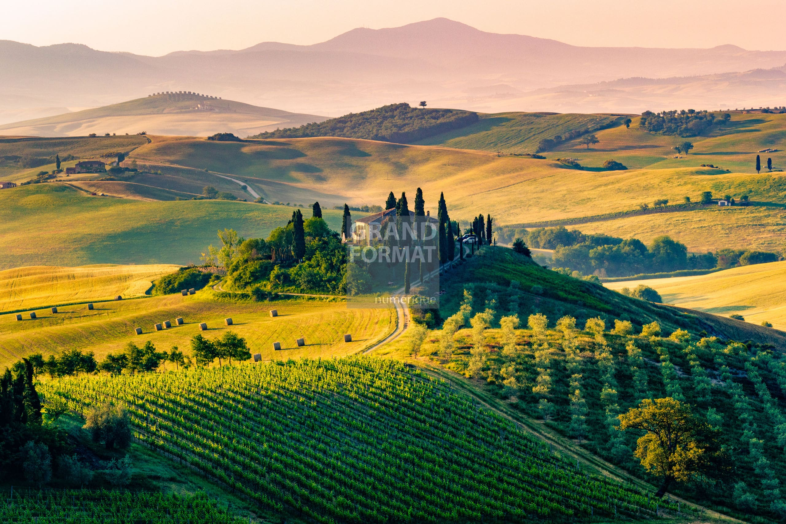 Toscane Italie photo impression et toile