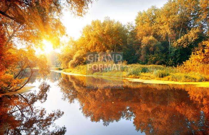 Fleuve, rivière photo impression et toile