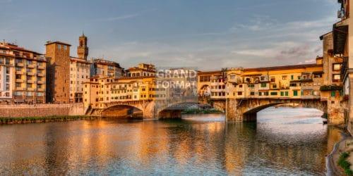 Florence, Italie, pont Vecchio, photo à télécharger