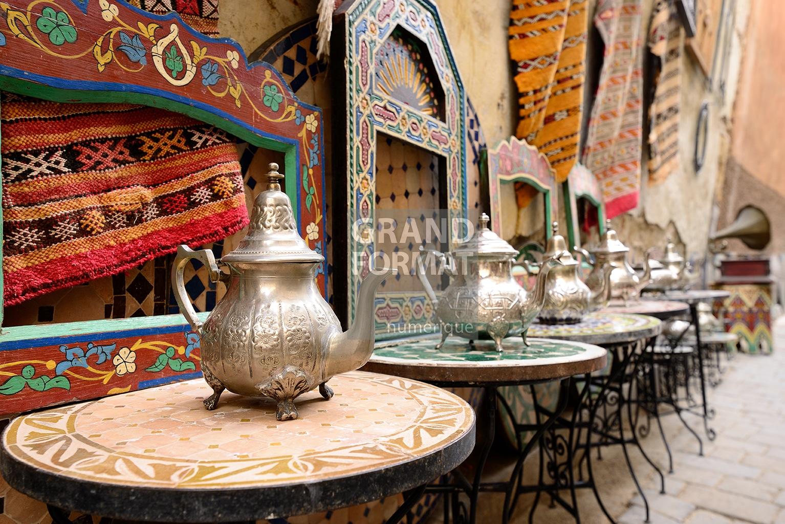 Marrakech Maroc photo impression et toile