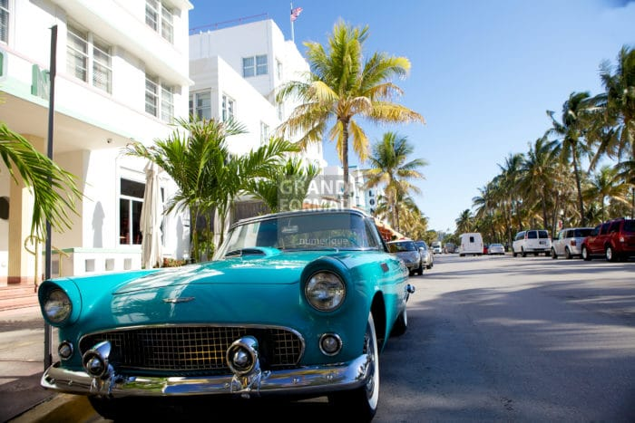 Miami, Etats Unis, photo impression et toile