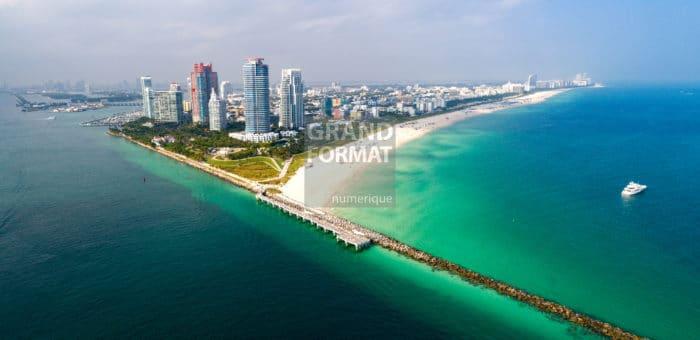 Miami, Floride, photo impression et toile