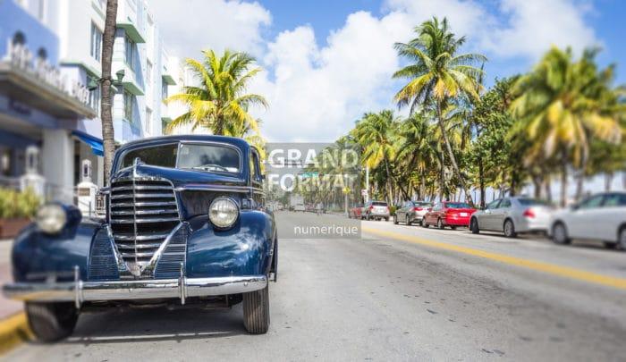 Miami, USA, photo impression et toile