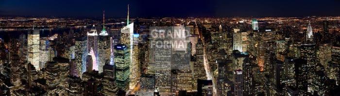 NY panoramique photo impression et toile