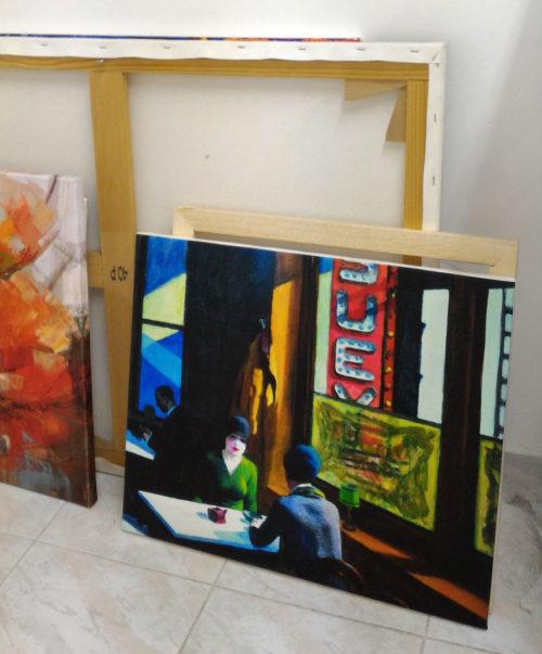 Reproduction tableau -impression sur canvas