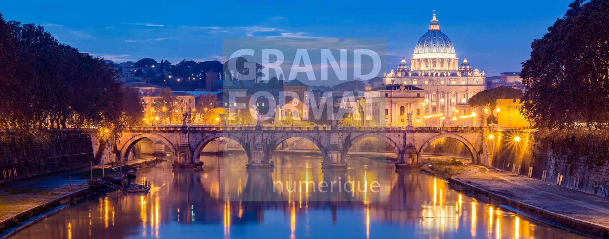 Rome Vatican photo impression et toile