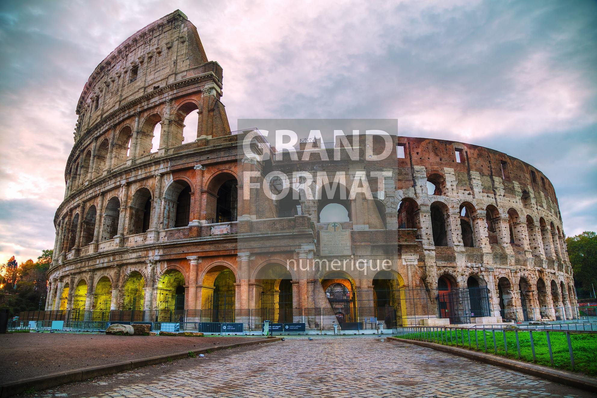 Rome colisée photo impression et toile