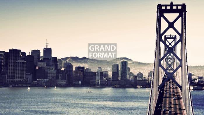 San Francisco pont photo impression et toile