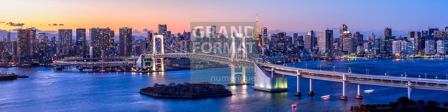 Tokyo japon photo impression et toile
