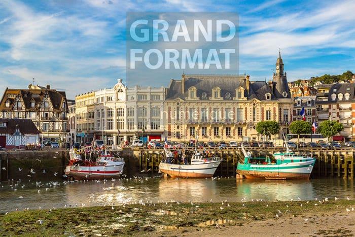 Trouville Normandie Photo impression et toile