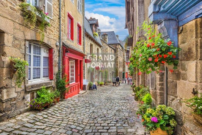 Village Bretagne photo impression et toile
