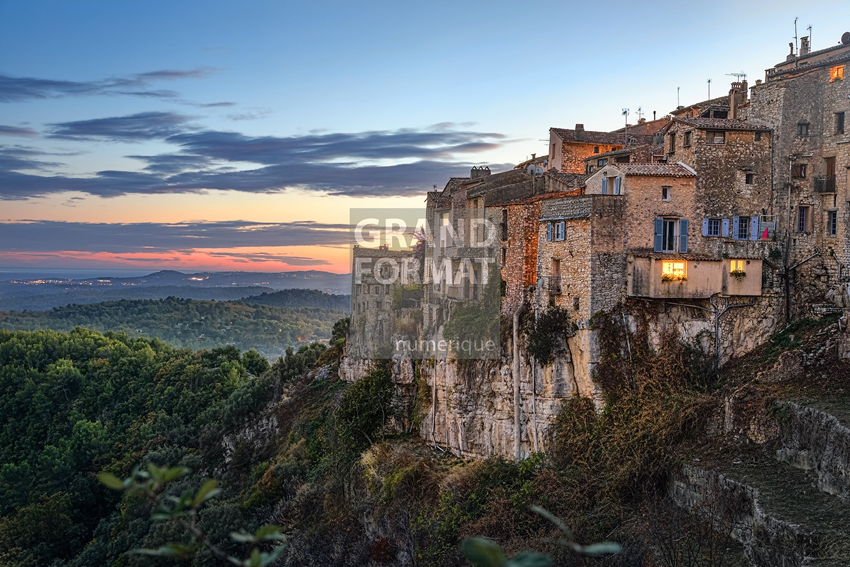 Village Corse photo impression et toile